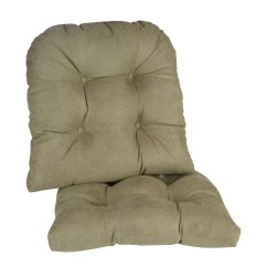 Green Chair Cushions Cover Rentals Huntsville Al Pads Home Decor Kohl S The Gripper Twillo Pad