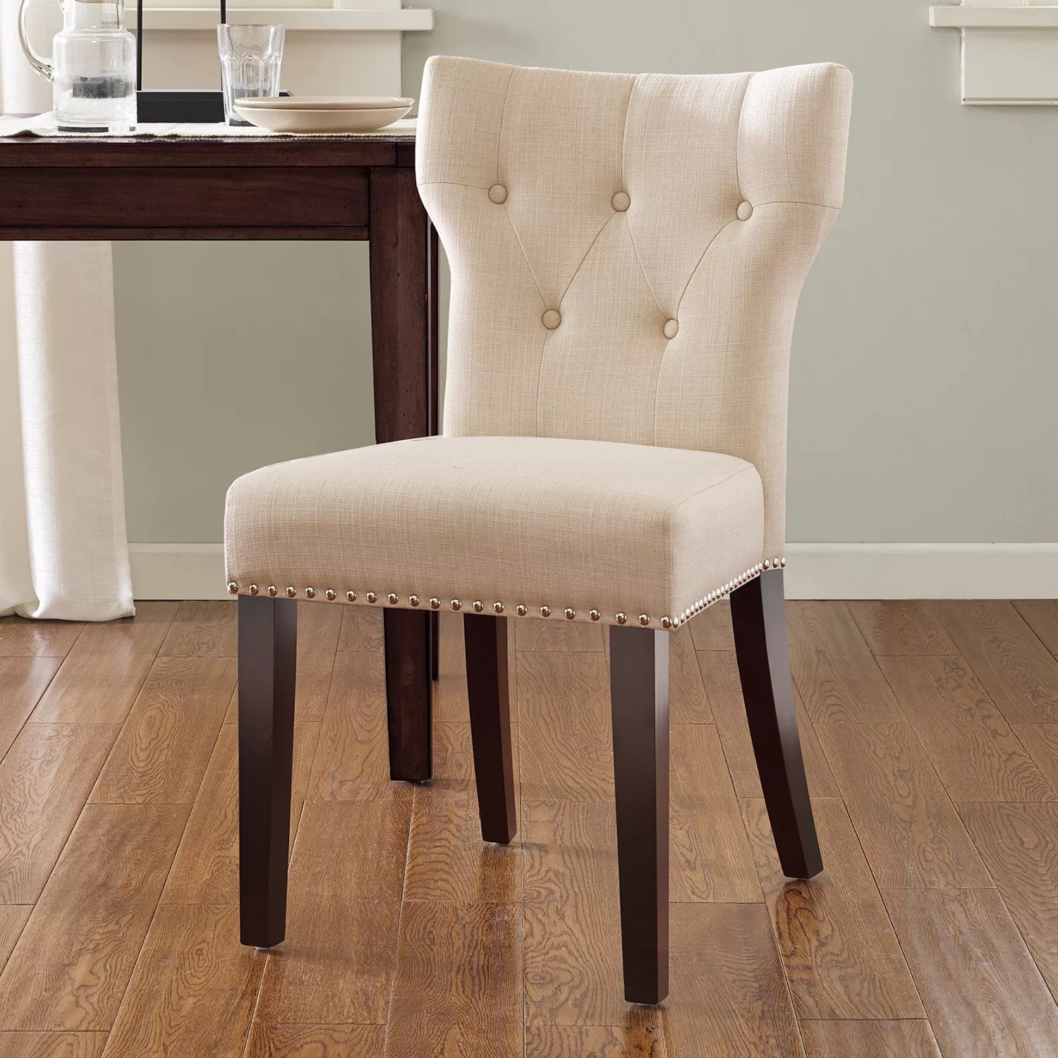 kohls dining chairs office chair youtube furniture kohl s madison park emilia tufted back