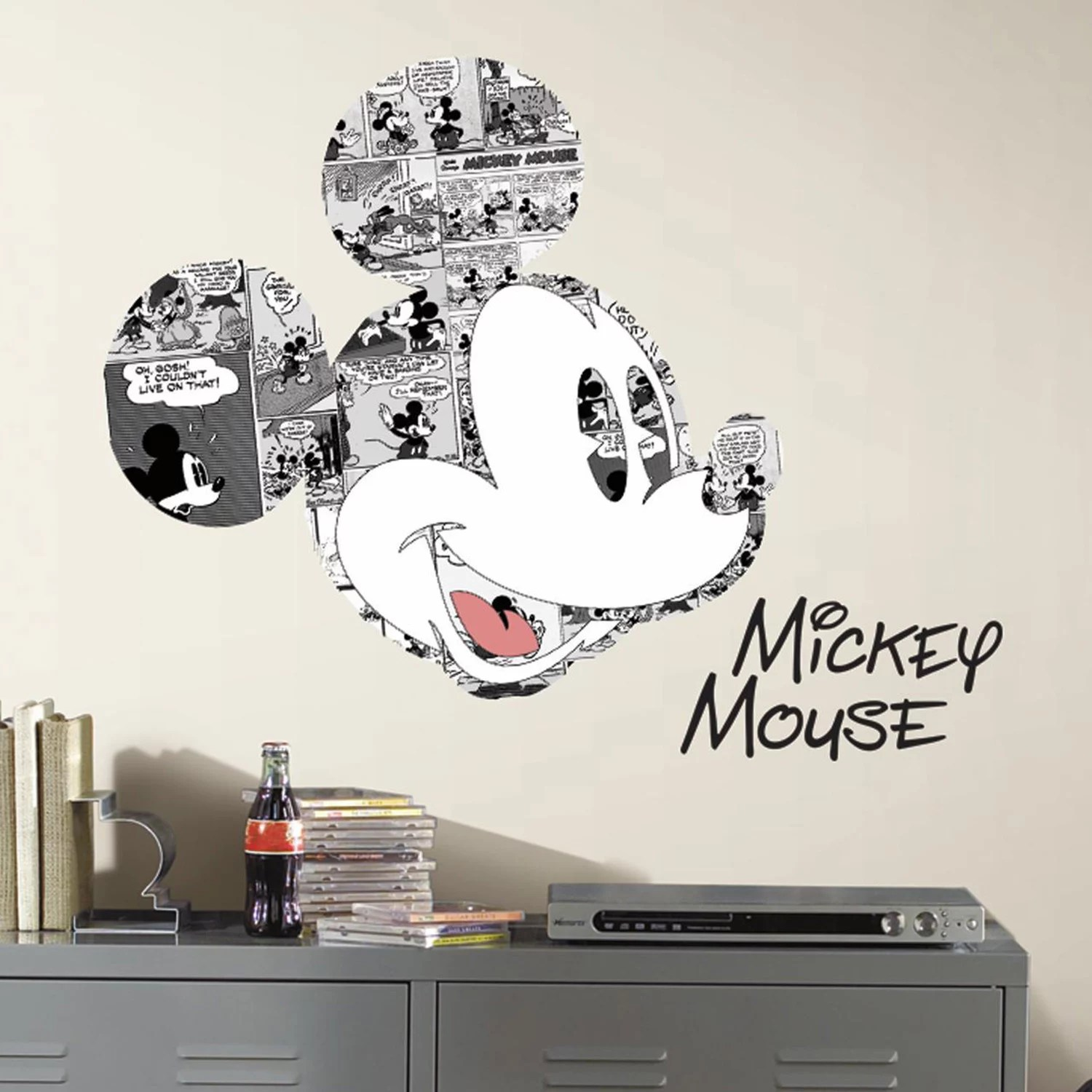 disney mickey mouse peel stick wall decals