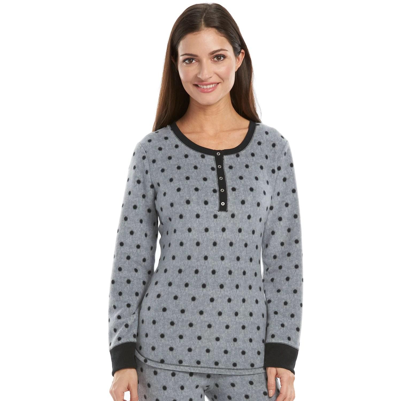 Long Polyester Spandex Pajama Kohl'