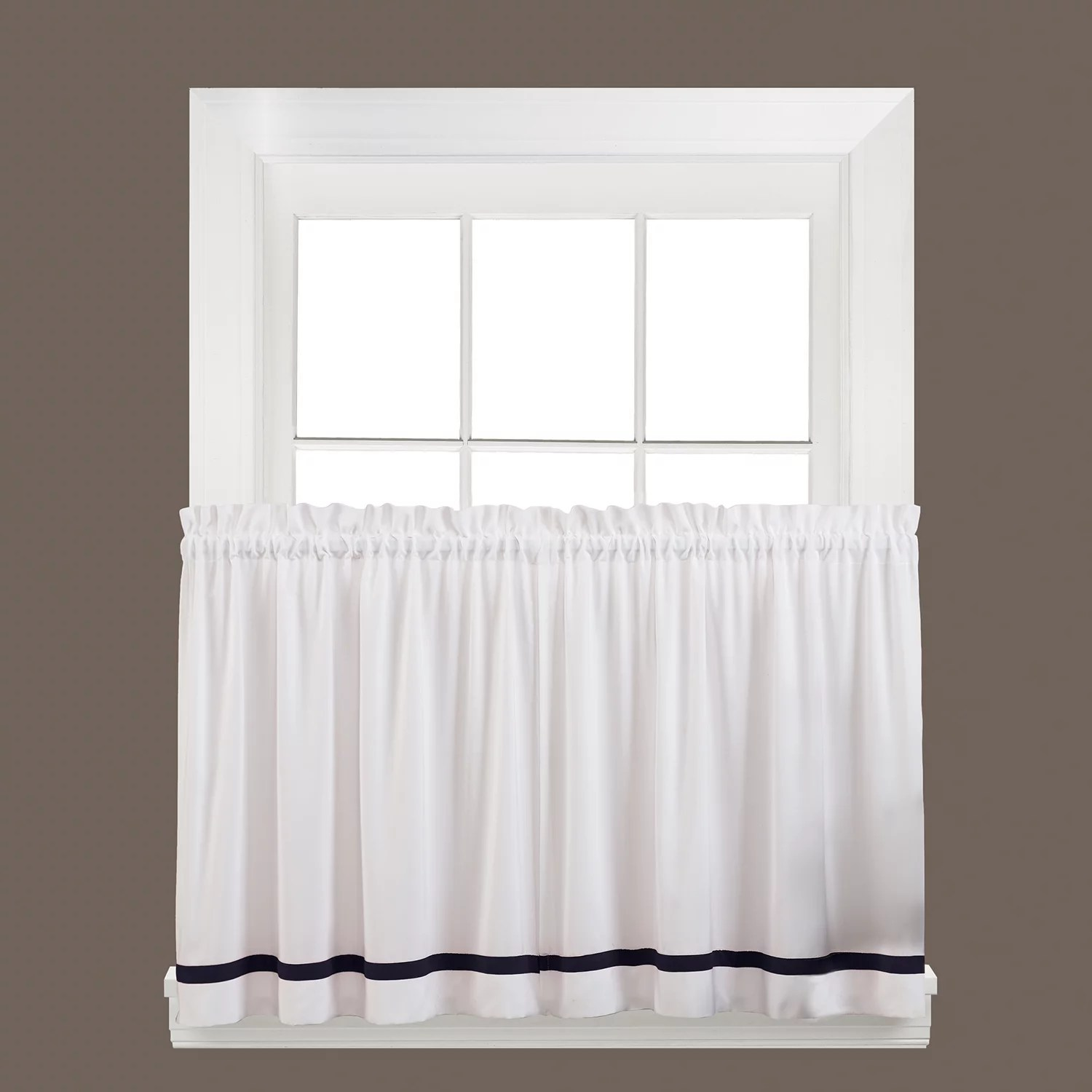 kitchen curtains kohls island stainless steel top saturday knight ltd drapes window treatments kate tier curtain set