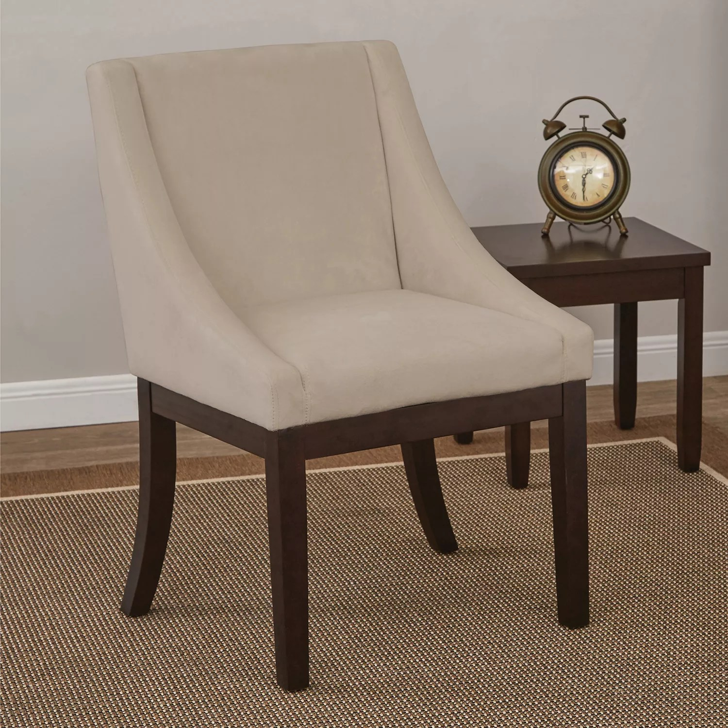 ave six chair upholstered folding chairs uk accent furniture kohl s easy care velvet wingback monarch