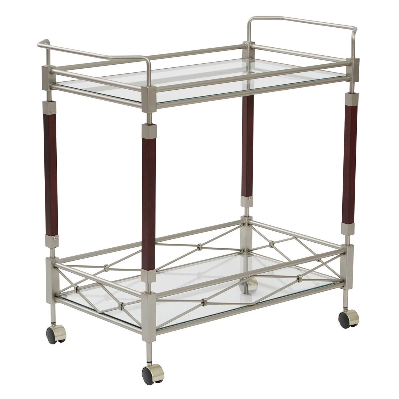 kitchen serving cart vintage table carts islands furniture kohl s osp designs melrose