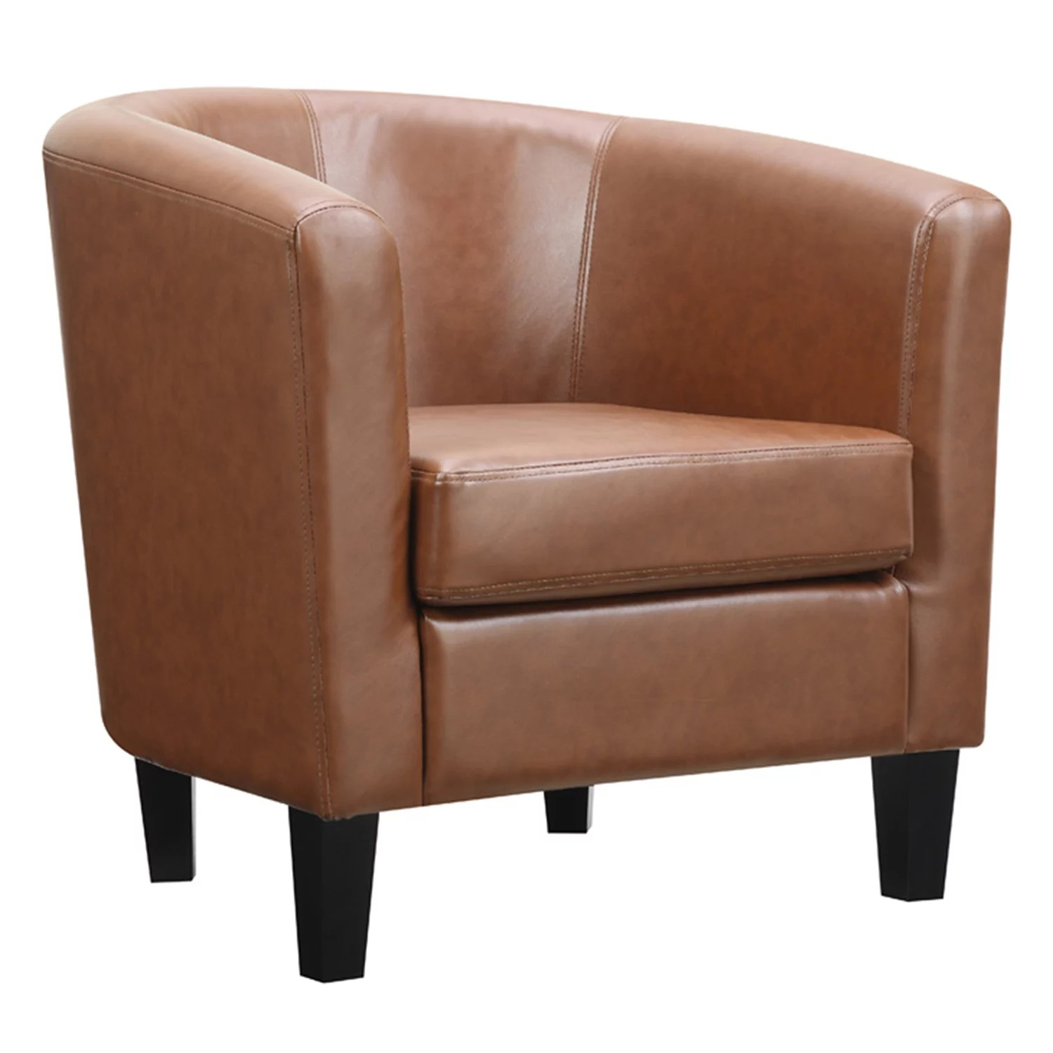 brown accent chairs chair upholstery fabric furniture kohl s riley barrel arm