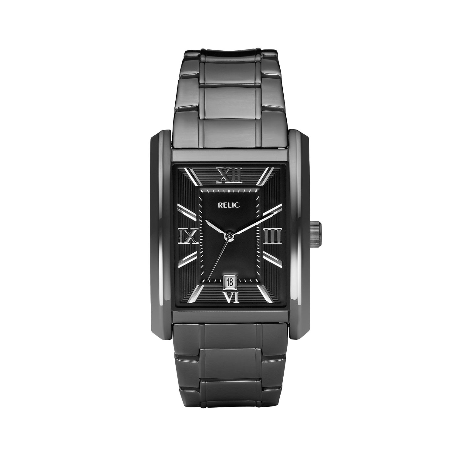 Relic Mens Silver Tone Watch Kohl'
