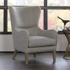 Accent Wingback Chairs Yellow Chair Furniture Kohl S Madison Park Leda