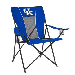 Folding Kentucky Chair Desk Gray Adult Logo Brand Wildcats Game Time Portable