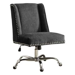 Office Desk Chairs Chair Club Reviews Furniture Kohl S Linon Draper