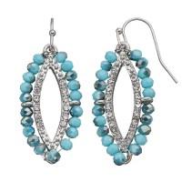 Marquise Silver Earrings | Kohl's
