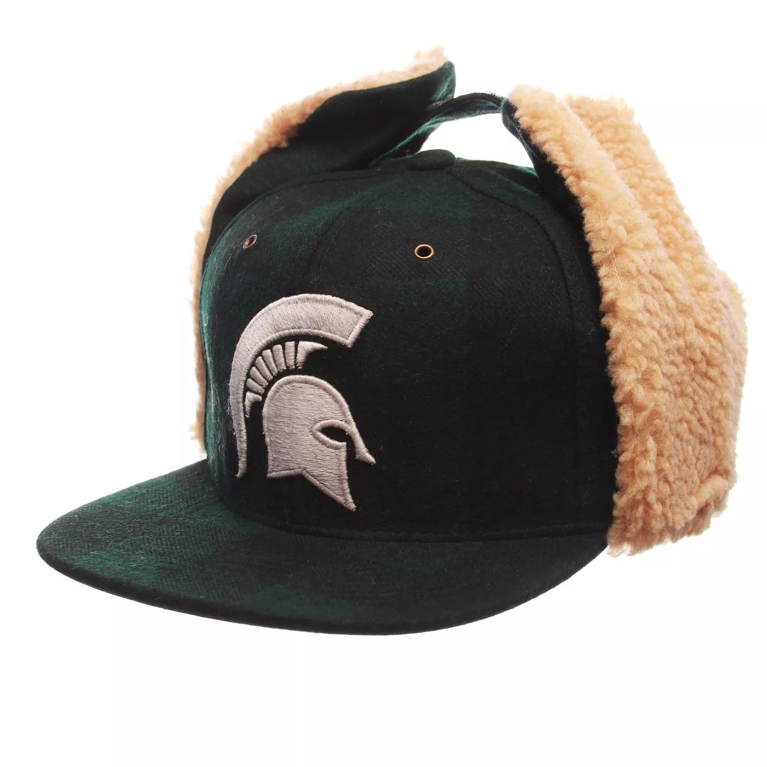 also adult zephyr michigan state spartans woodsman fitted hat rh kohls