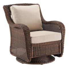 Wicker Swivel Outdoor Dining Chair Ikea Poang Covers Canada Sonoma Goods For Life™ Presidio Rocking