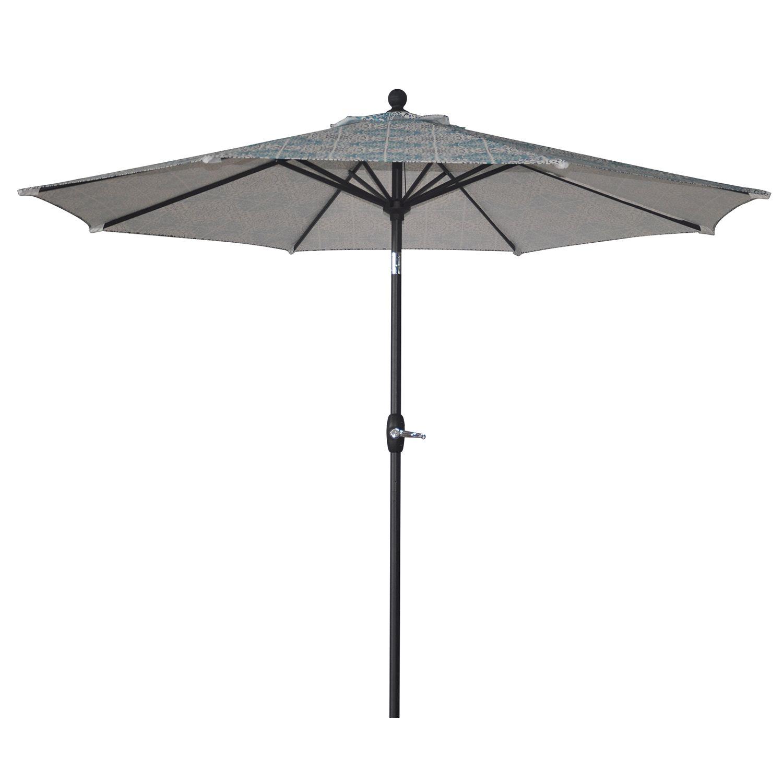 sonoma goods for life 9 ft crank tilt patio umbrella