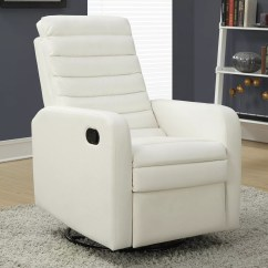 Quilted Swivel Chair Gaming Stool Monarch Glider Recliner
