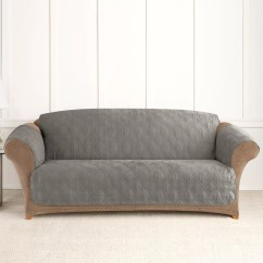 Kohl S Pet Sofa Cover Triple Recliner Sure Fit Microfiber Non-skid