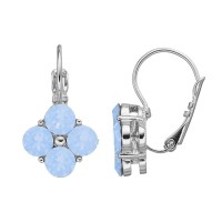 Dana Buchman Quatrefoil Drop Earrings