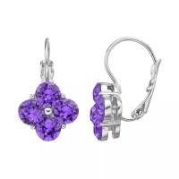 Dana Buchman Quatrefoil Drop Earrings | DealTrend