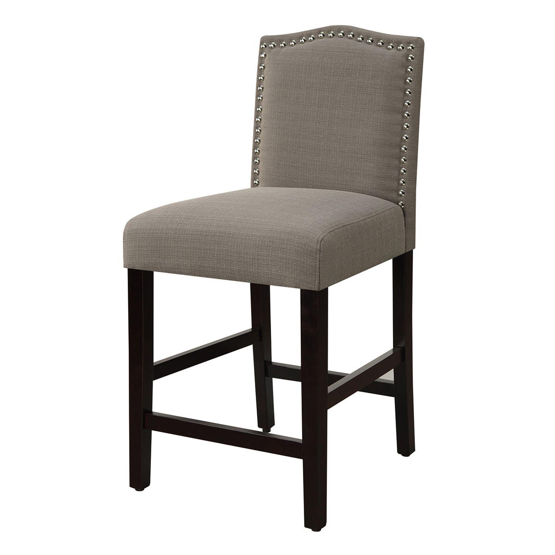 kohls dining chairs best for standing desks room furniture kohl s morgan nailhead counter stool