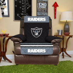 Oakland Raiders Chair The Salon And Spa Harrington De Quilted Recliner Cover