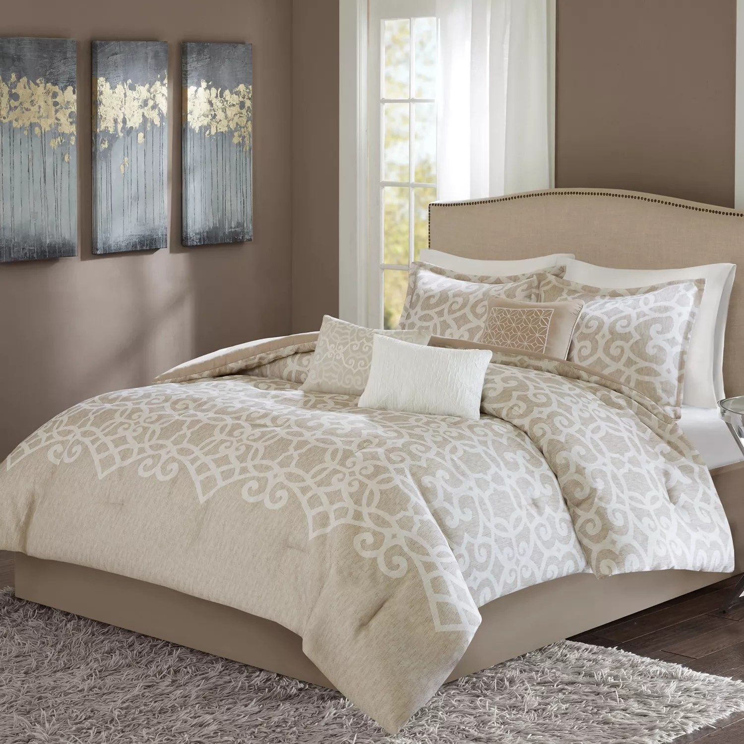 Madison Park Beatrice 7piece Comforter Set