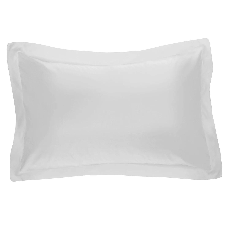white pillow shams bedding bed