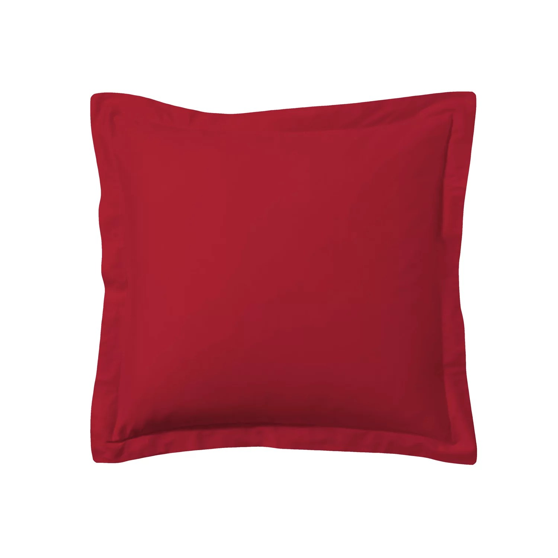red pillow shams bedding