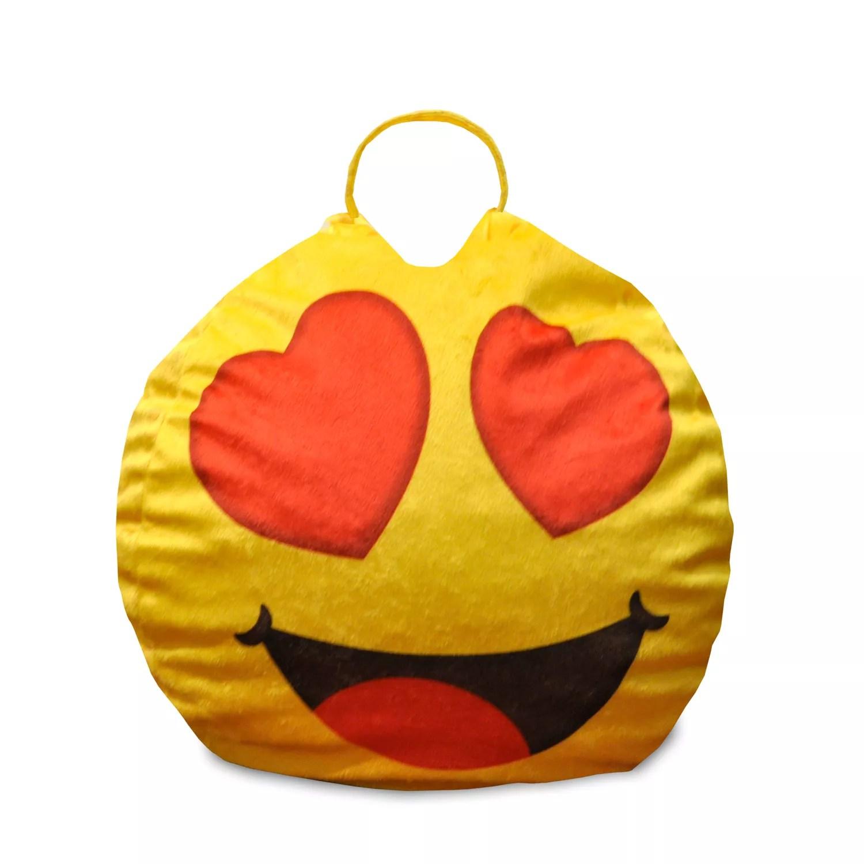 mini bean bag chair stools target heart eyes emoji