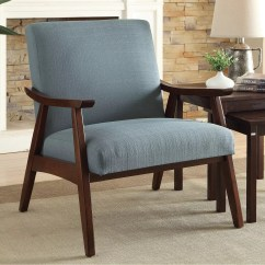 Accent Chairs For Living Room Chair Covers Back Only Blue Furniture Kohl S Ave Six Davis