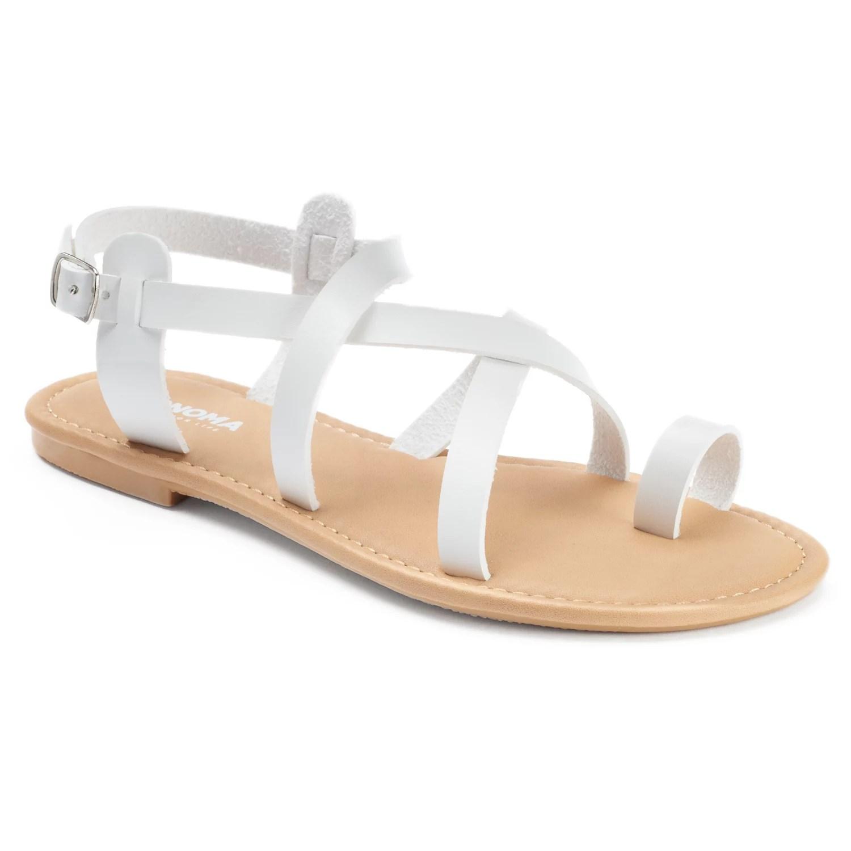 SONOMA Goods for Life Womens Crisscross Strap Sandals