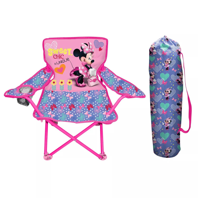 minnie mouse folding chair swivel parts disney s fold n go