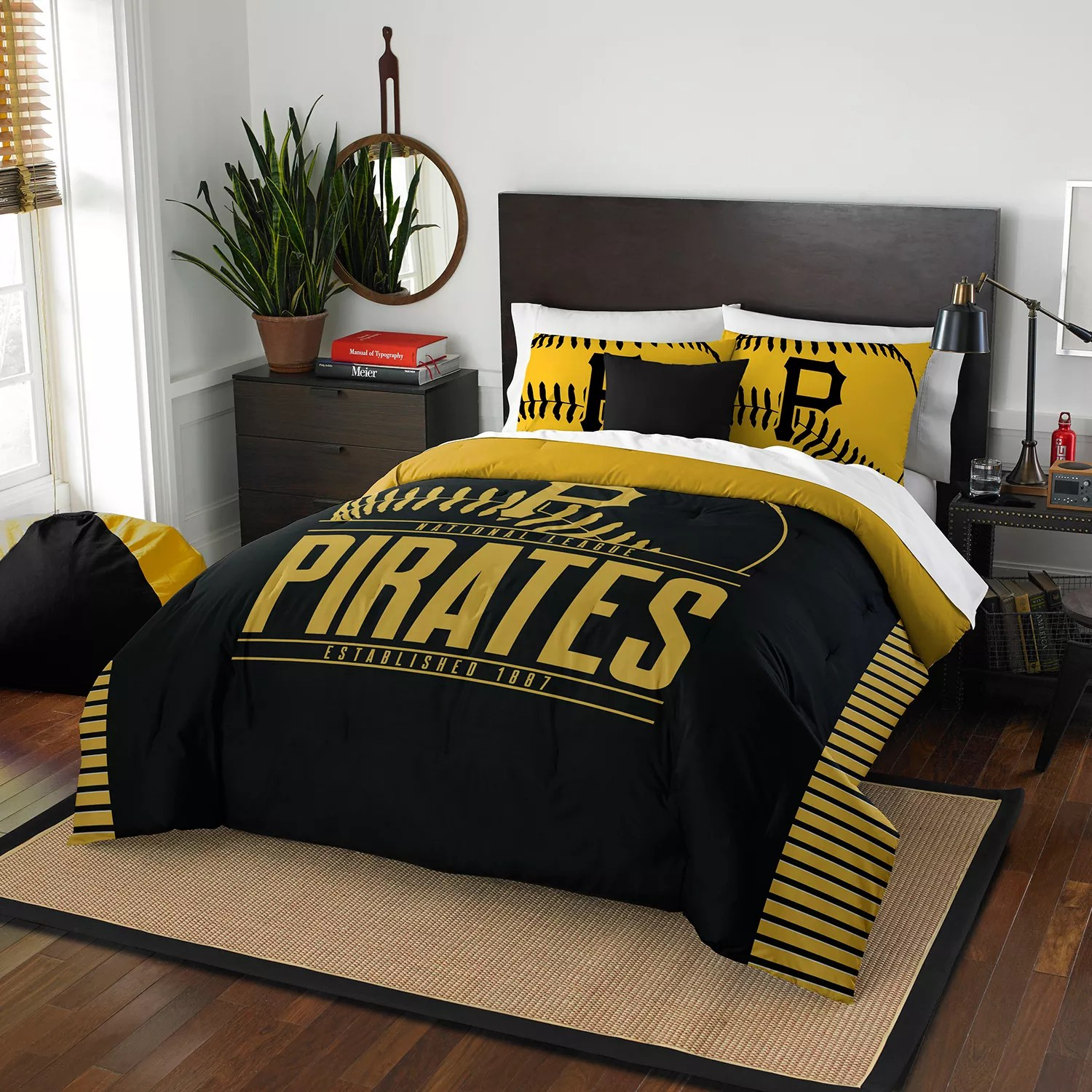 Pittsburgh Pirates Grand Slam Full/Queen Comforter Set by