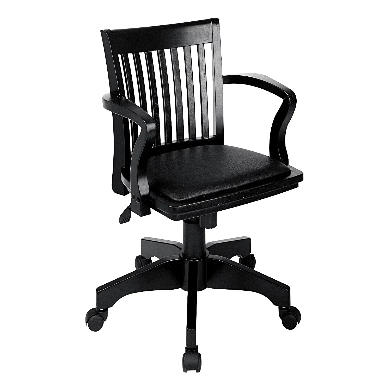 dorm chairs kohls heywood wakefield wicker kohl s office star products deluxe banker chair with vinyl seat