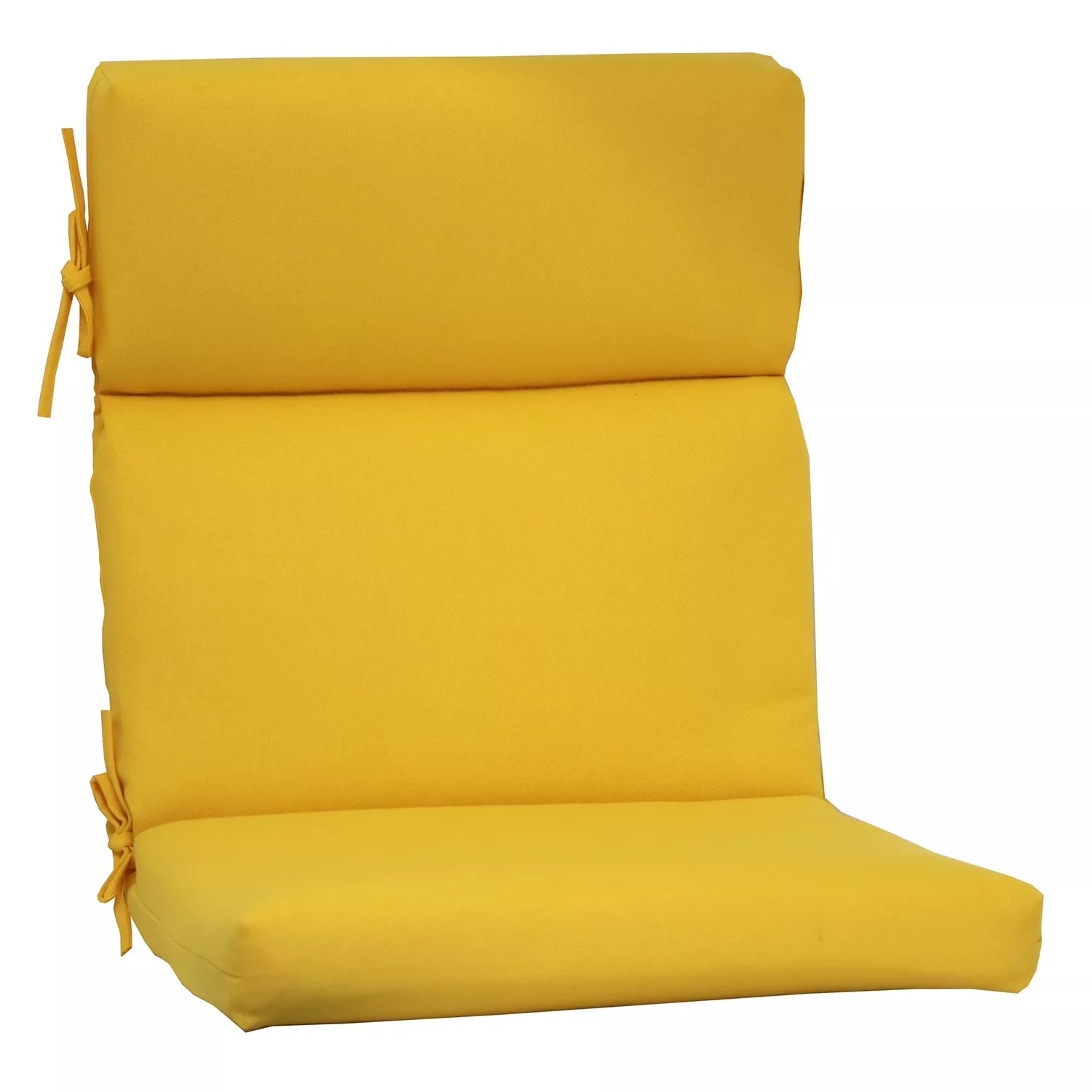 home goods dining chair cushions swing hammock outdoor yellow pads frasesdeconquista