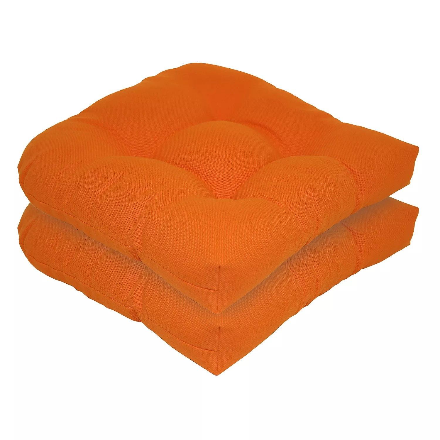 kohls outdoor chair cushions lounge pads orange patio decorative sonoma goods for life 2 piece indoor reversible u