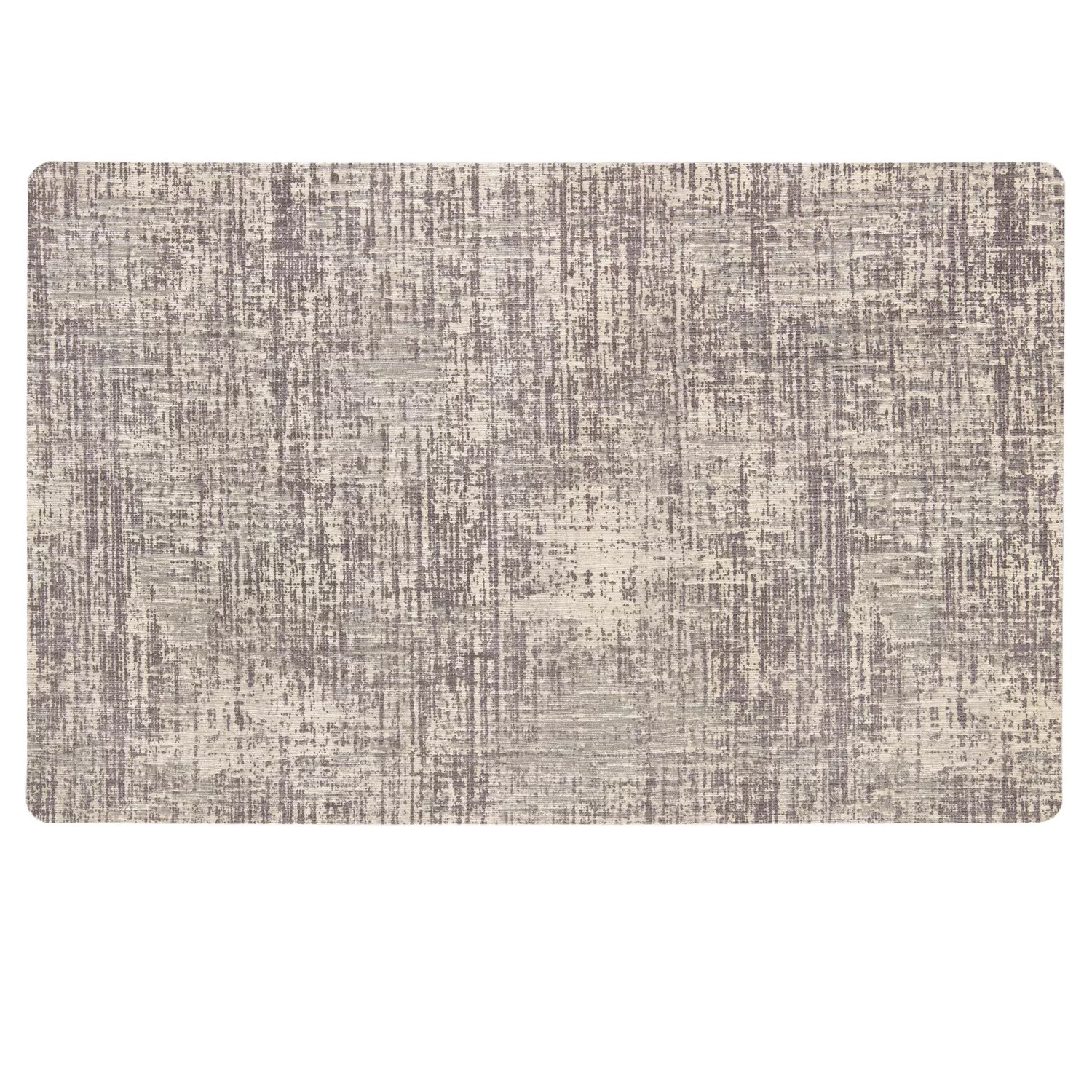gray kitchen rugs handmade islands grey home decor kohl s mohawk neoprene textured striations mat tan brown