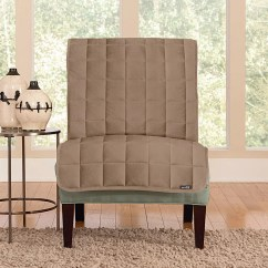 Slipcover For Armless Chair Hanging Nepal Cat Brown Chairs Kohl S Sure Fit Deluxe Comfort