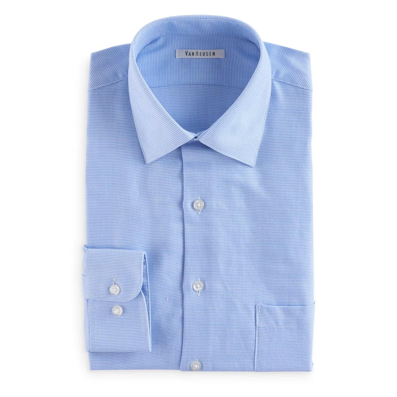 also men   van heusen comfort soft regular fit wrinkle free dress shirt rh kohls