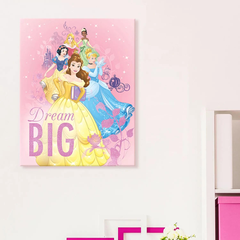 disney princess canvas wall art null