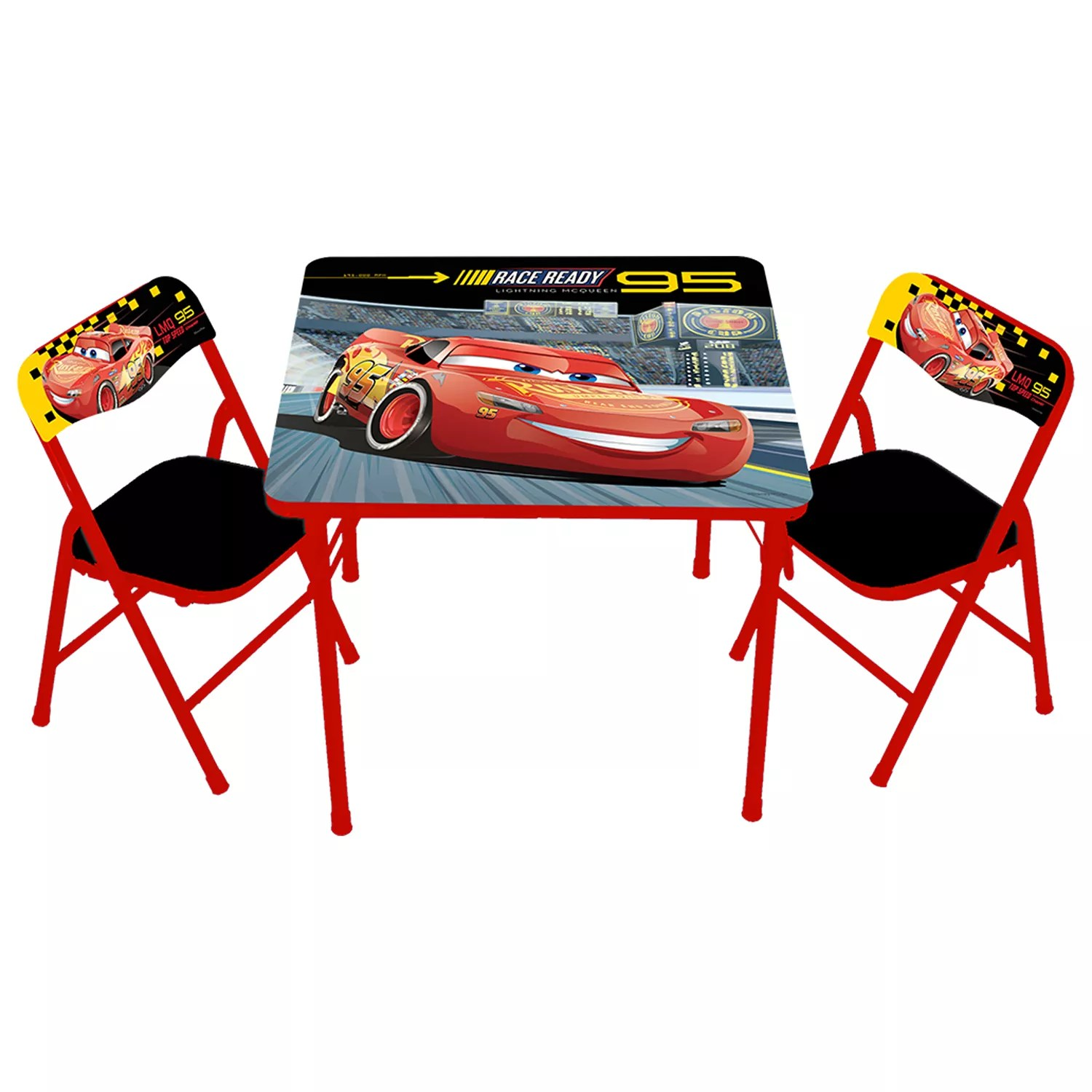 Disney  Pixar Cars 3 Activity Table  Chairs Set