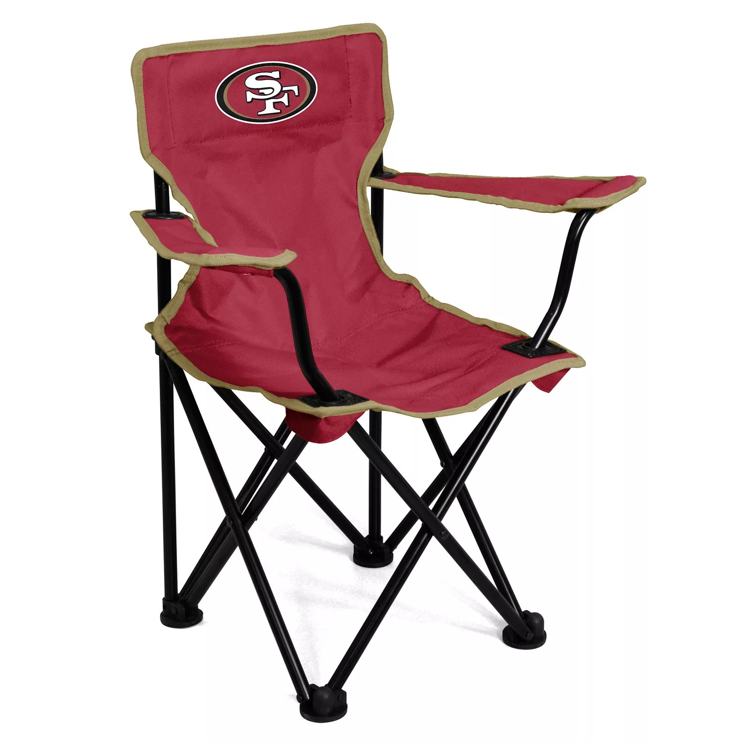 Kohls Folding Chairs Logo Brands San Francisco 49ers Toddler Portable Folding Chair