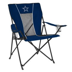 Dallas Cowboys Folding Chairs Oka Dining Room Chair Covers Adult Logo Brand Game Time Portable