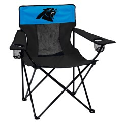 Carolina Panthers Folding Chairs Swivel Chair Thomas Jefferson Adult Logo Brand Quad Portable Sale