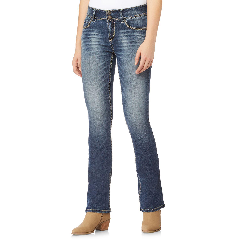 also juniors  wallflower luscious curvy bootcut jeans rh kohls