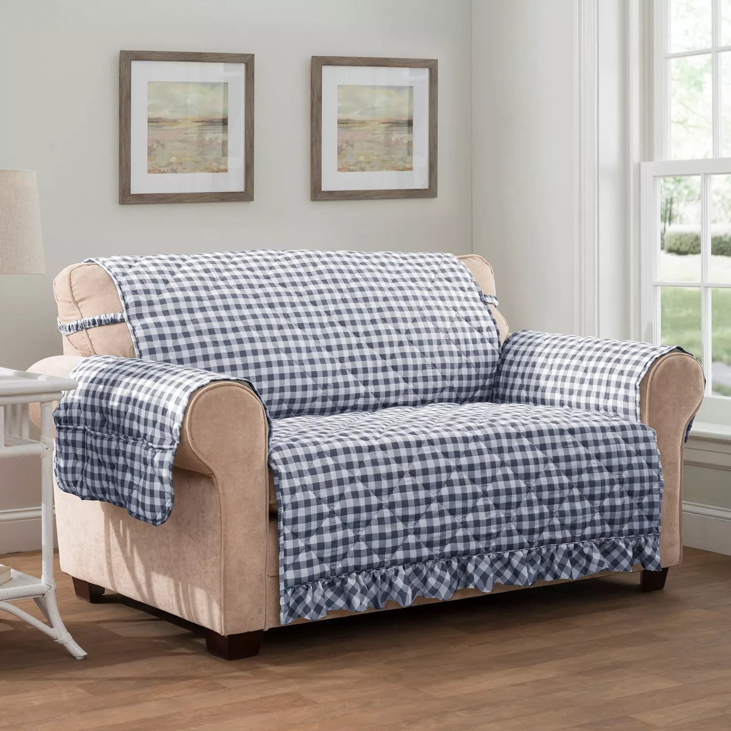 karlstad sofa cover uk paletten kissen outdoor gingham country cottage sofas foter - thesofa