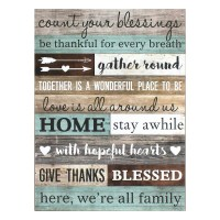 """""""Count Your Blessings"""" Wall Art"""