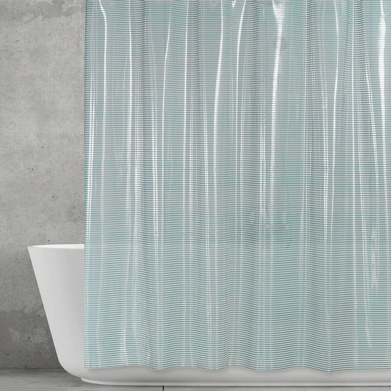 creative bath linea vinyl shower curtain