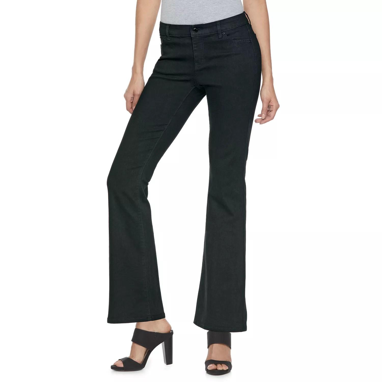 Women   jennifer lopez midrise bootcut jeans also womens bottoms clothing kohl rh kohls