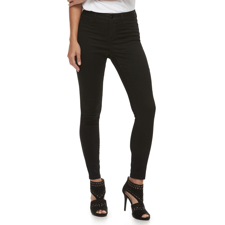 Women   jennifer lopez super stretch midrise skinny jeans also womens bottoms clothing kohl rh kohls