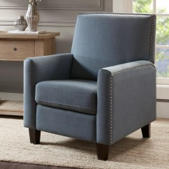 Reclining Accent Chair White Reading Recliners Chairs Furniture Kohl S Madison Park Ferris Push Back Recliner