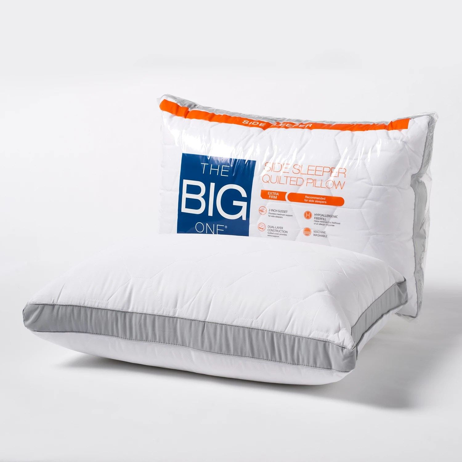 the big one feather pillow