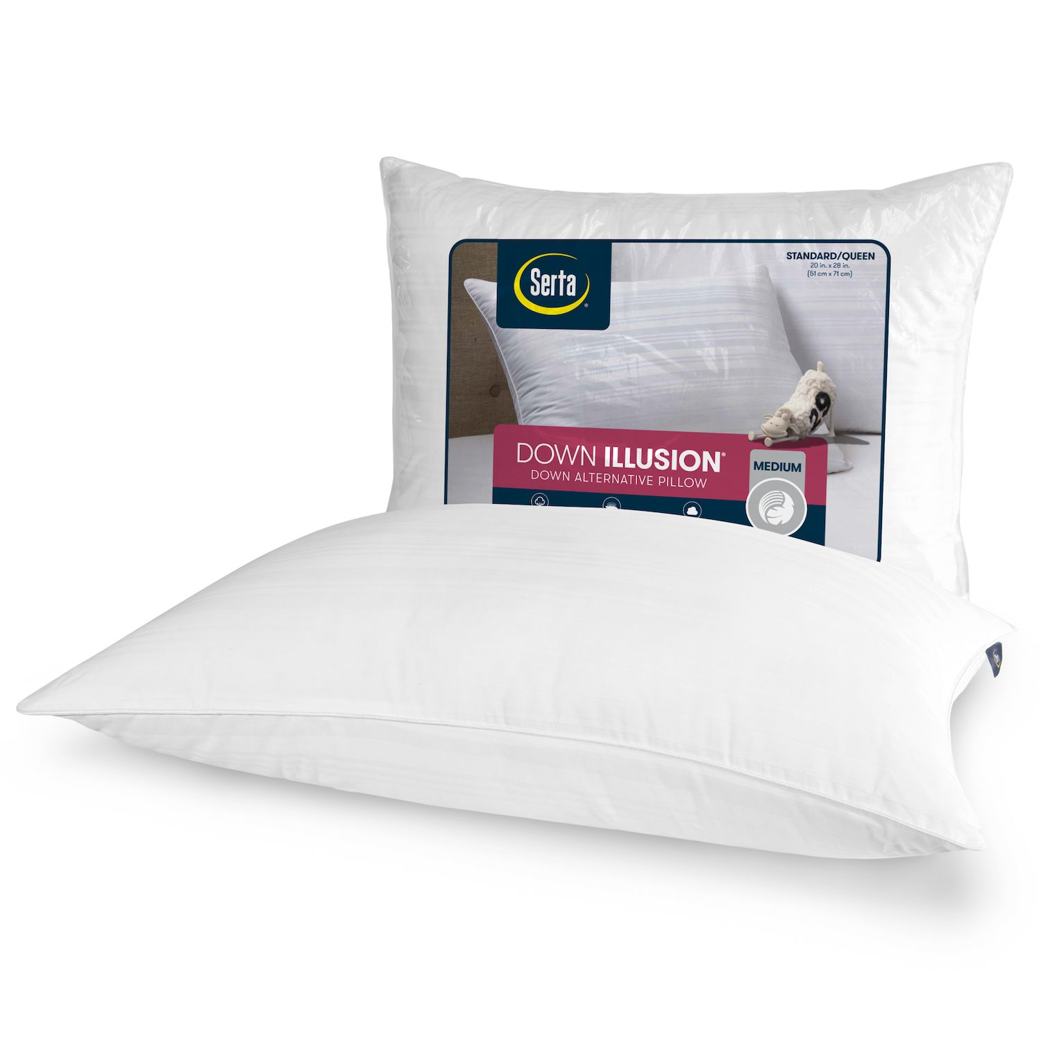 big one quilted side sleeper bed pillow